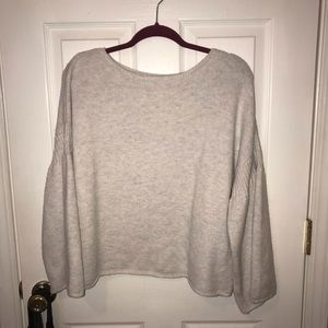 Lou & Grey LOFT Bell Sleeve Sweater M